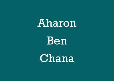 Aharon Ben Chana